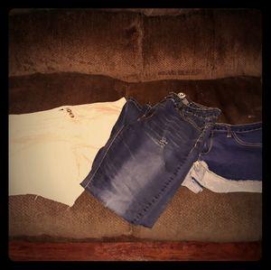 Womens Shorts Jeans Bundle 14-16 AE VIP
